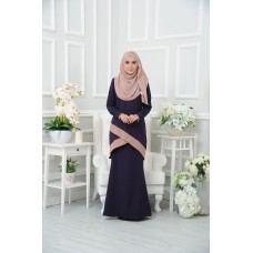 Kurung Aubrey - Dark Purple