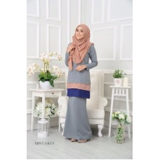 Kurung Dorothy - Mint Grey