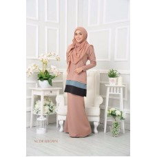 Kurung Dorothy - Nude Brown